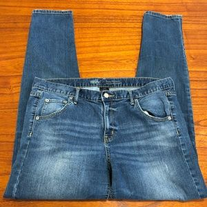 Mossimo Skinny boyfriend jeans with whiskering